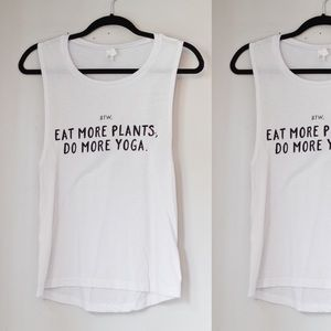 Wholesome Culture Eat More Plants Muscle Tank